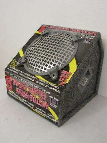"Price comparison product image Roadmaster RSE80HC 8"" Universal Carpeted Speaker/Subwoofer Enclosure"