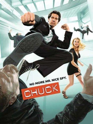 Chuck (TV) Circular Movie (27 x 40 Inches - 69cm x 102cm) (2007) (Style E)