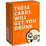 These Cards Will Get You Drunk - Fun Adult Drinking Game for Parties