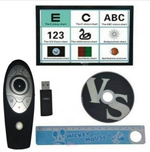 Welljoin Chart Projector Eyesight Vision Visual Tester Software with Remote Control