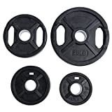 Ader Rubber Coated Olympic Grip Plate (35 LBS)