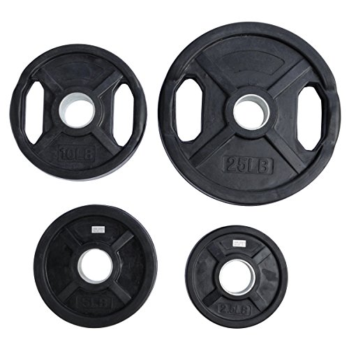 Ader Rubber Coated Olympic Grip Plate(s)