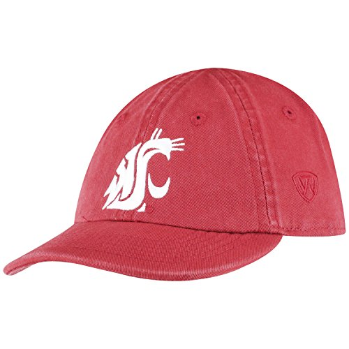 (Top of the World Washington State Cougars Infant Hat Icon, Maroon, Adjustable )