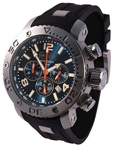 BARBOS STINGRAY Chronograph Taucheruhr 1000 Meter Diver Watch