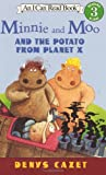 Minnie and Moo and the Potato from Planet X, Denys Cazet, 0064443124