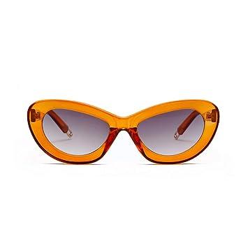JUZEN Gafas de Sol, CatS Eye, Gafas de Sol, Montura pequeña ...