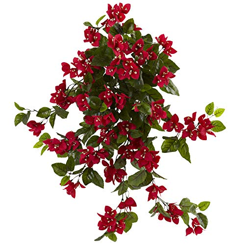 Bougainvillea Hanging - Nearly Natural 6132-S2-RD 28
