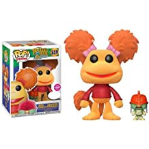 Exclusive Fraggle Rock Funko Pop! Vinyl - Red with Doozer (Flocked)