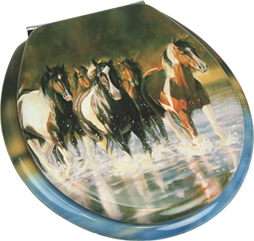(River's Edge Products Horse Toilet Seat)