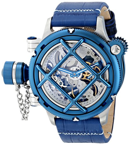 Invicta Men's 16372 Russian Diver Analog Display Mechanical Hand Wind Blue Watch