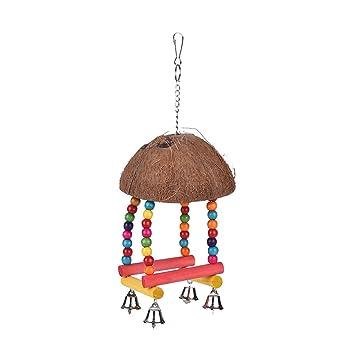 Spielzeug Haustierbedarf Vogelspielzeug Vogelschaukel für Wellensittich Nymphensittich Spielzeug