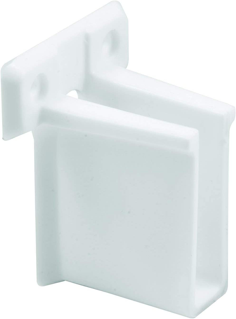 MP7016 Wire Shelf End Bracket Pack of 6 New Version 6 Piece White