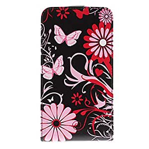 Butterfly Flower Pattern PU Leather Full Body Case for Samsung Galaxy S3 I9300