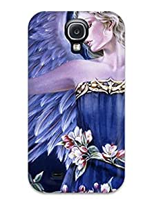 (gkpKwVX4006guPfu)durable Protection Case Cover For Galaxy S4(angel)