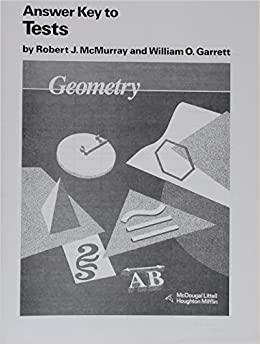 Amazon mcdougal littell jurgensen geometry answer key tests amazon mcdougal littell jurgensen geometry answer key tests geometry grade 10 9780395470718 robert j mcmurray william o garrett books fandeluxe Gallery