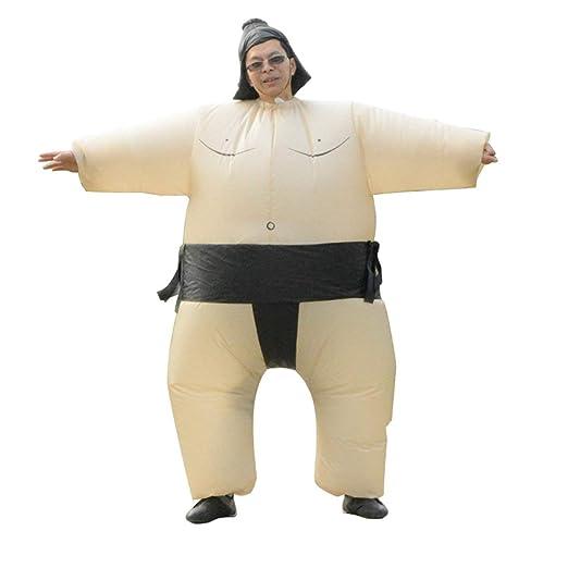 WEIWEITOE Abanico Inflable Sumo Vestido Novedad Gordo Hombre ...