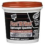 DAP 12142 Fast N Final Interior and Exterior Spackling, 1-Quart Tub фото