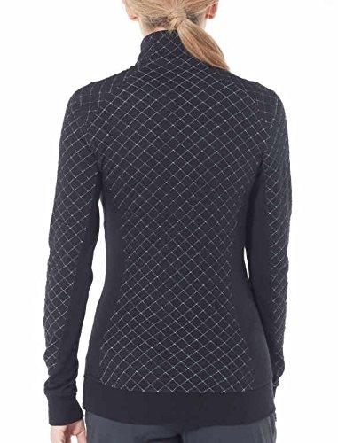Icebreaker Merino Womens Affinity Thermo Long Sleeve Half Zip Pullover Top Merino Wool