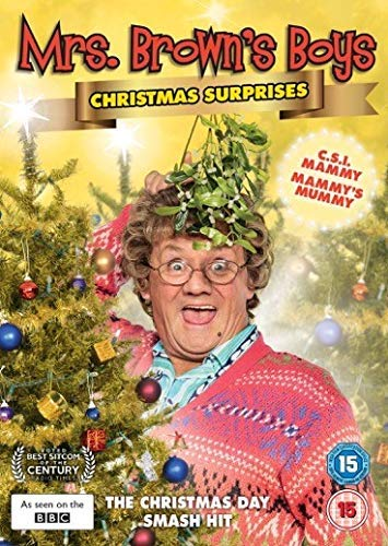 Mrs Brown's Boys Christmas Surprises [UK import, region 2 PAL format]]()