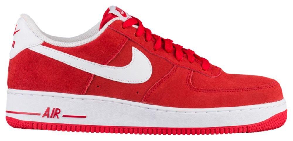[ナイキ] Nike Air Force 1 Low - メンズ バスケット [並行輸入品] B072LXXL64 US06.0 University Red/White