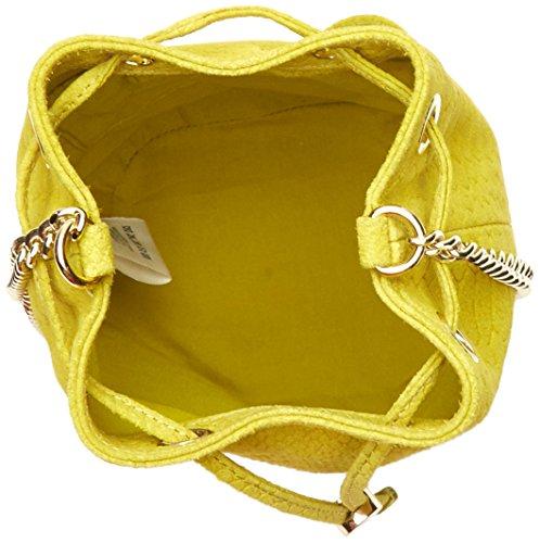 Petite Mendigote Yuzu - Bolsos bandolera Mujer Amarillo (Lime)