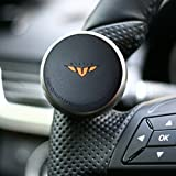 Mini Power Handle Steering Wheel Spinner Knob for All Car (Black)