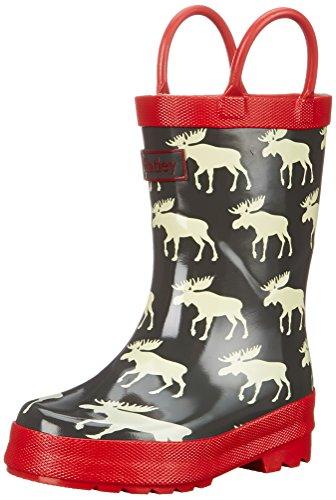 Hatley Boys Rainboots Moose Green