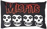 Logo inadaptados de almohada y funda de almohada de calaveras