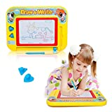 Tresbro Magnetic Drawing Board Toys for Girls or Boys Over 3 Year Old, Travel Magna Doodle Erasable Writing /Sketch Pad, Preschool Learning and Educational Game Toy for Toddlers Kids Children Babies