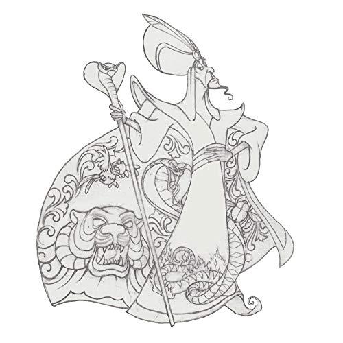 Enesco Aladdin: Jafar Jim Shore Statue Standard