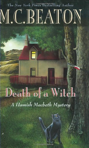 book cover of Death of a Witch