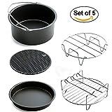 V-mix Air Fryer 5 Piece Baking Set, Fit all 3.7QT - 5.3QT - 5.8QT...
