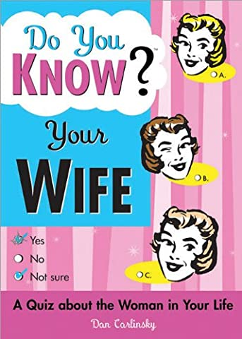 Do You Know Your Wife?: A Quiz about the Woman in Your Life (How Do You Get A Guy)