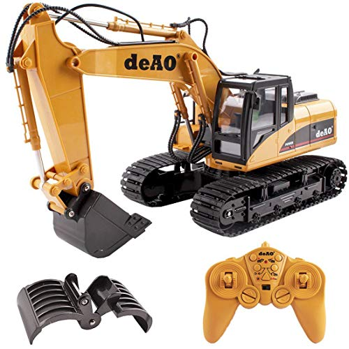 (deAO RC Digger Truck with Extra Claw 2.4GHz Sync System for Multi)