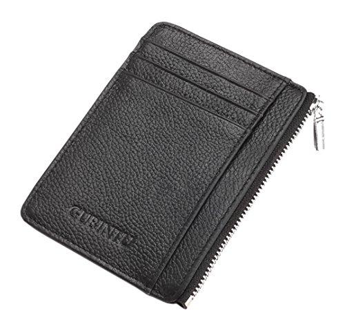 Classic Black jblqb04 Leather Retro Cowhide Wallets Black Genuine 1 Men 1 HopeEye 0x5qXwPF