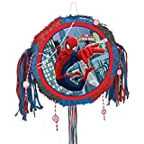 Ultimate Spider-Man Pull String Pop-Out Pinata - Birthday Party Supplies - From Fun365