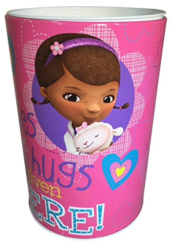 Doc McStuffins - Kids Coin Saving (Money) Bank - Disney - Smiles And Hugs Given Here - Piggy Hugs