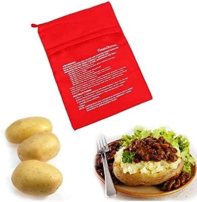 Onsinic 1pcs Microondas Hornear Patatas Bolsa rápida rápida Papas ...