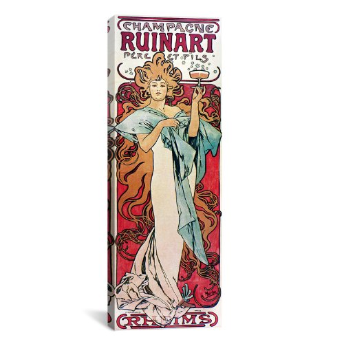 icanvasart-champagne-ruinart-1896-by-alphonse-mucha-canvas-art-print-48-by-16-inch