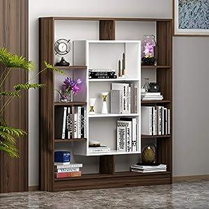 HOMIDEA Venus Bibliothèque – Étagère de Rangement – Étagère pour Livres – Étagère pour Bureau/Salon par Le Design…