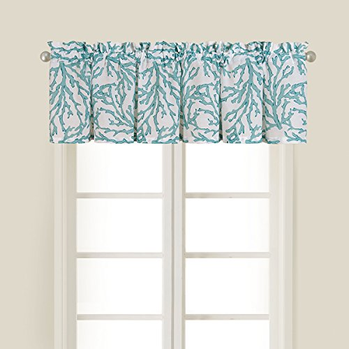 C&F Home Cora Blue Valance Set 2 Valance Set of 2 Blue