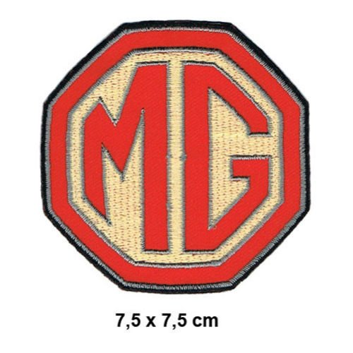 MG Morris Garages Sport Racing England MGA MGB MG Patch Sew Iron on Embroidered