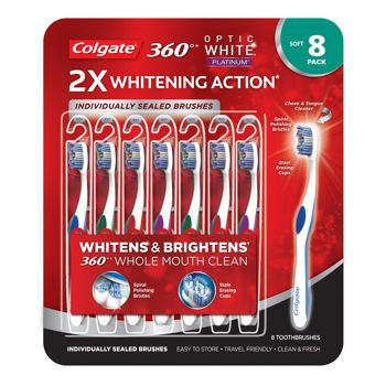 optic white 360 platinum toothbrush