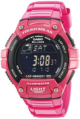 "Casio Women's W-S220C-4BVCF ""Tough Solar"" Digital Watch Casio"