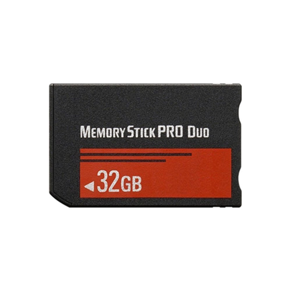 32 GB Memory Stick PRO Duo Flash Memory Card FVMSPD-032G Plus Micromate reader and Adapter