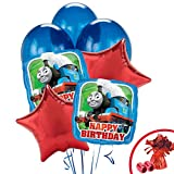 Thomas the Train Party Supplies - Balloon Bouquet