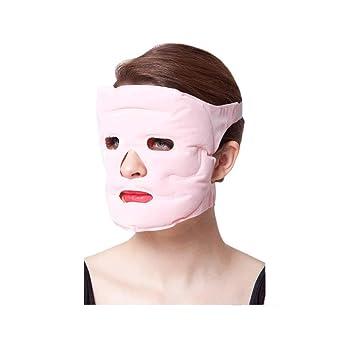 Amazon.com: AUCH terapia máscara facial, máscara cara gel ...