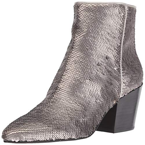 Dolce Vita Women's Coltyn Ankle Boot, Chrome Sequins, 7.5 M US