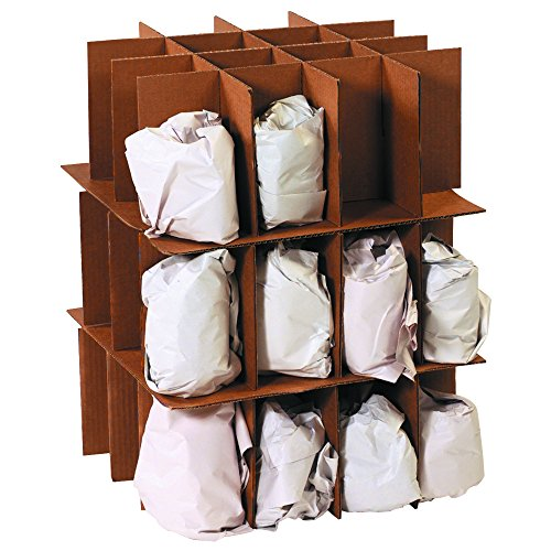 Tape Logic TLPARTKITMS Kitchen Dish Pack Partition Moving Kit, Kraft ()