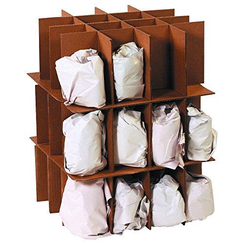 Tape Logic TLPARTKITMS Kitchen Dish Pack Partition Moving Kit, Kraft